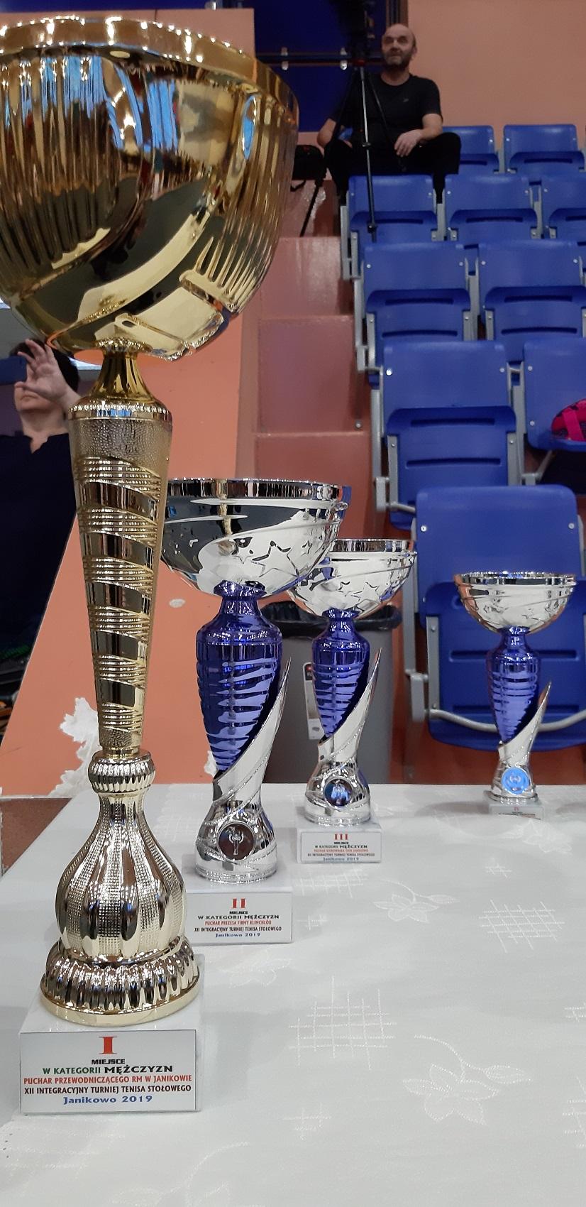 XII Wojewódzki Integracyjny Turniej Tenisa Stołowego już za nami.