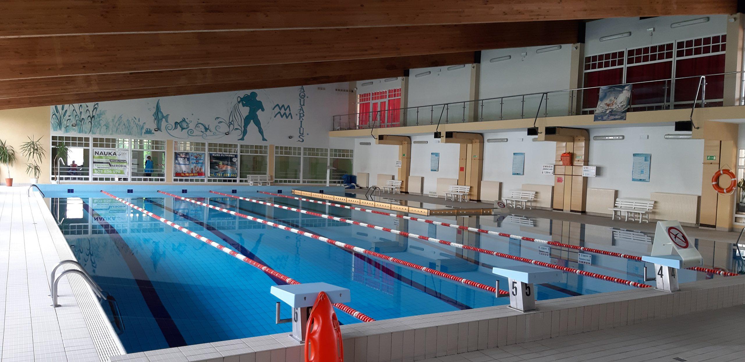 Zmiana godzin otwarcia pływalni WODNIK