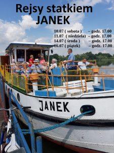 Rejsy statkiem Janek